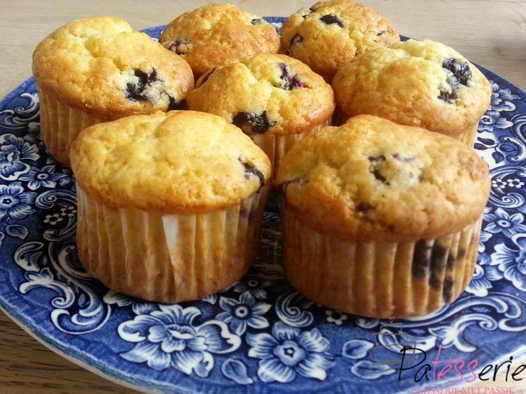 Bosbes muffins en een lege keuken? - PaTESSerie