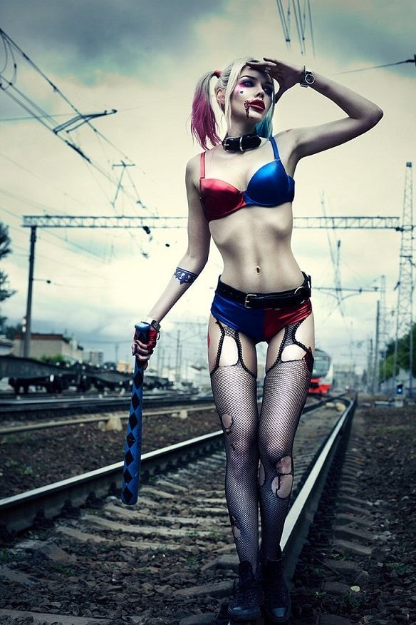Harley Quinn Suicide Squad Cosplay By Glenofobia
