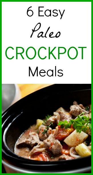 Easy Paleo Crockpot Meals - www.seedsofrealhealth
