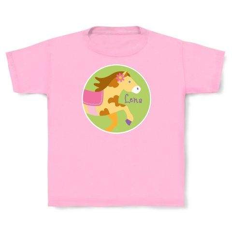 Personalized Pony T-shirt by Olive Kids!