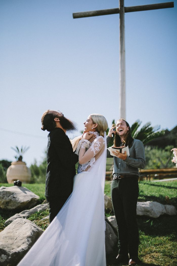 This 40-Person Amalfi Coast Wedding at Fattoria Marecocolla was Filled with Raw Emotion