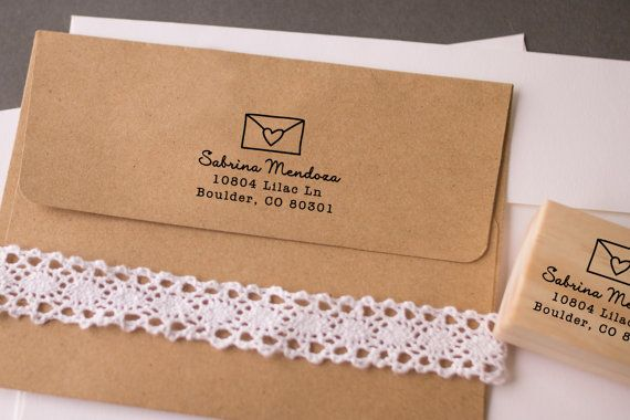 how to put address and stamps on a letter