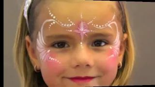 tuto maquillage pour enfant - YouTube