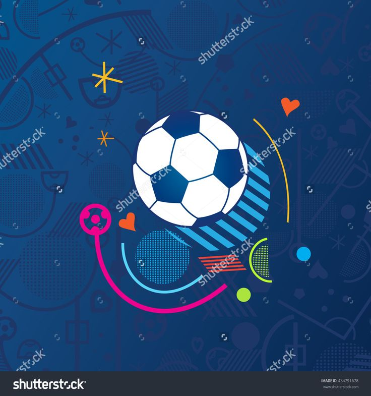 European championship 2017. France. 2016/17 Soccer Abstract blue background soccer pattern 2016 Football. Vector poster. Europe Champion League award, Soccer Winner, WIN, Finale Game Wallpaper 2017