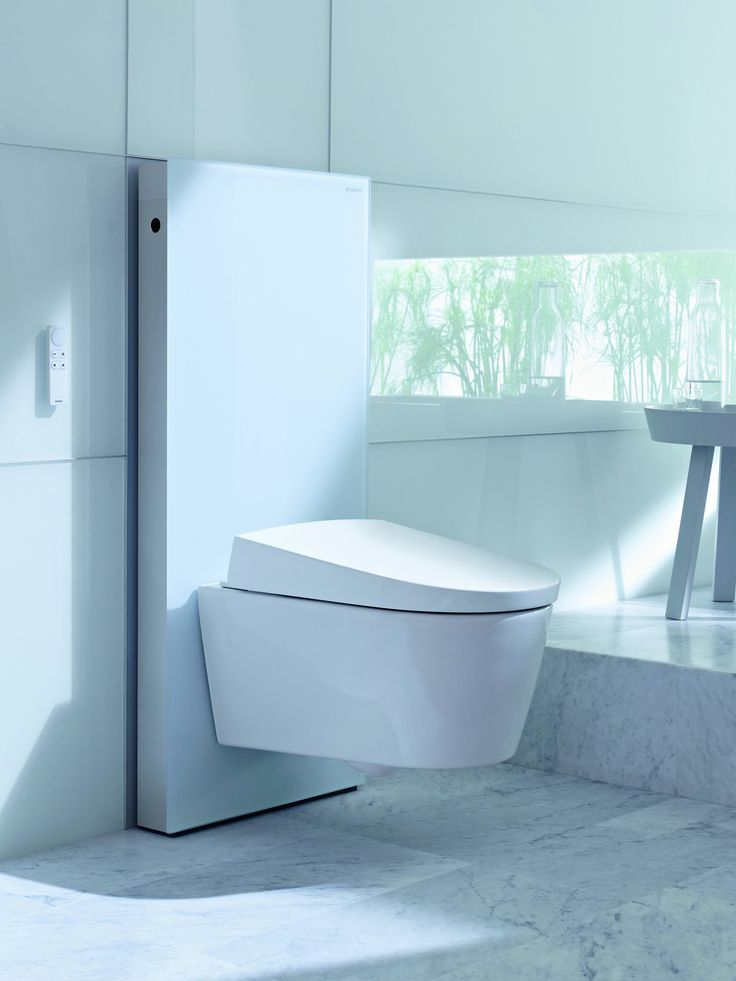 Simply, compact, elegant and modern: Matteo Thun designed our shower toilet Sela that it fits into any bathroom.   #GeberitAquaCleanSela #GeberitAquaCleanDesign