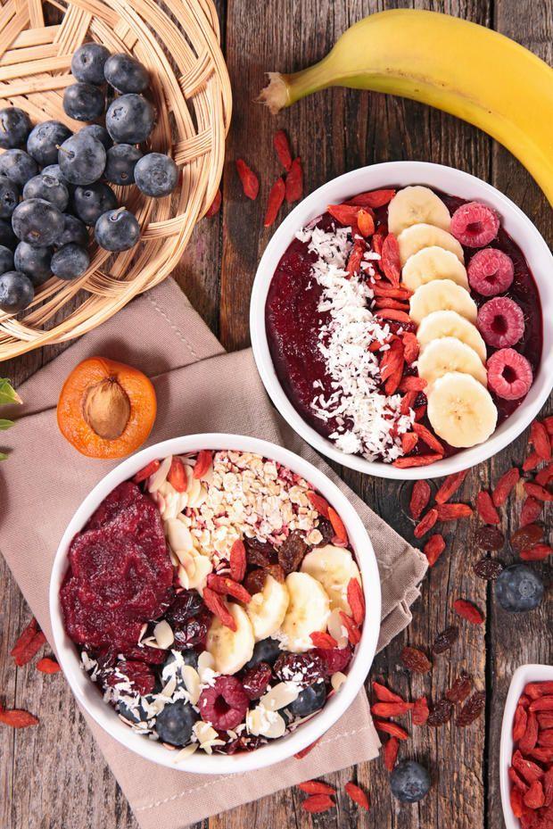 Das #Frühstück der Blogger: #Smoothie-#Bowl