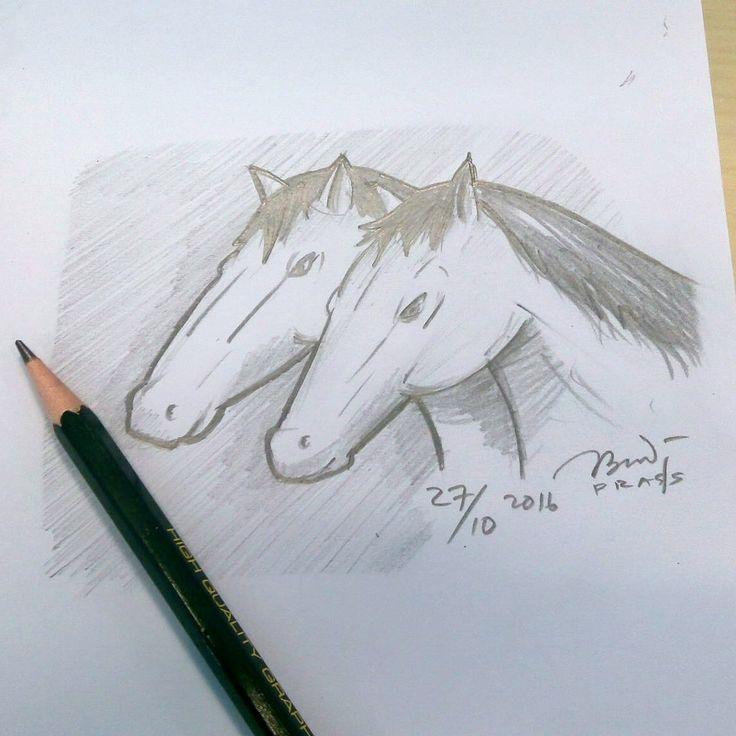 Udah mirip kuda blom?       #kuda #horse #horses #jaran #iseng #sketch #pencil #sketsa #sketsapensil #karikatur #caricature #pencilsketch #menggambar #gambar #ilustrasi #ilustration #sketching #drawing #art #artwork #seni #senirupa #belajar #belajargambar #cartoon #practice #prasssketch