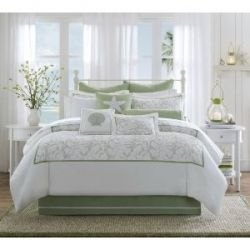 """Decorating ideas for beach themed bedrooms came about one day when I slipped into what I call my """"happy place""""; a beach theme bedroom with fresh..."""