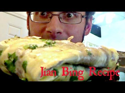 Authentic Jian Bing Recipe - Step by Step instructions - Jared's Junk Food