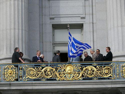 2012-03-22 SF Greek Flag Raising