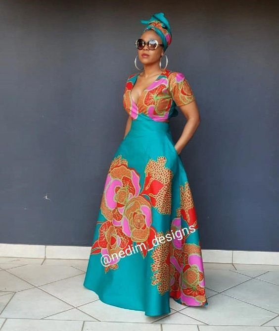 New African Woman's Cloths Outlook In 2020