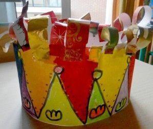 Cette semaine, fête de la galette. Mais , tous nos petits élèves étaient magnifiques avec leurs jolies couronnes Voici les couronnes des 4 PS : les couronnes des MS et les couronnes des GS