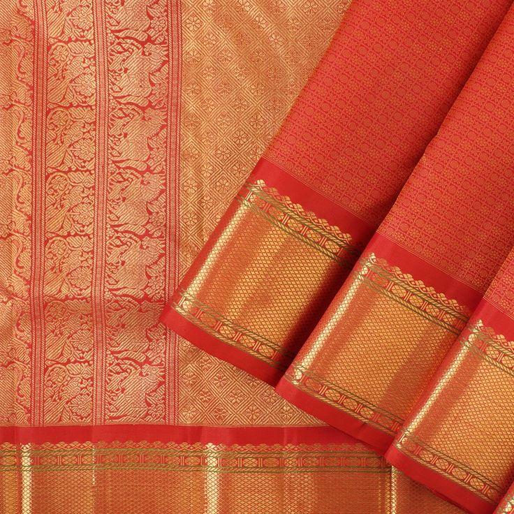 Kanakavalli Kanjivaram Silk Sari 040-01-24872 - Cover View