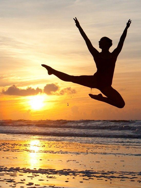 Sea dancer in the magic light of sunrise, photography by Richard Calmes
