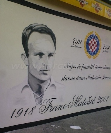 Hajduk Split Torcida mural. One of the nicest for me.  taken from www.torcida.org