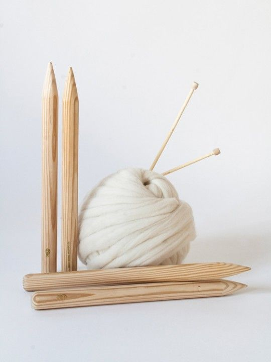 Knitting needles xxl #knittingnoodles #needlesxxl