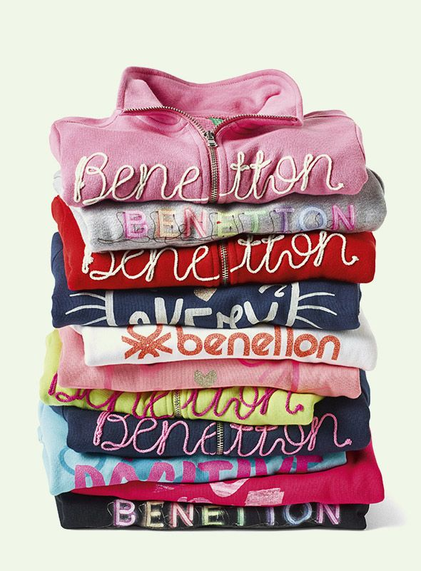 #Benetton #SS17 #collection #trend #fashion #kids #boy #girl #color #swatshirt