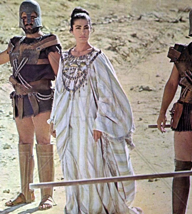 Irene Papas in 'The Trojan Women'