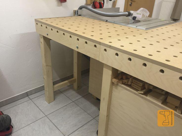Für meinen Arbeitstisch habe ich mir eine Tischverbreiterung gebaut welche individuell einsetzbar ist.