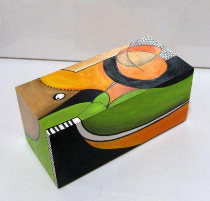 cajas de te pintadas - Buscar con Google