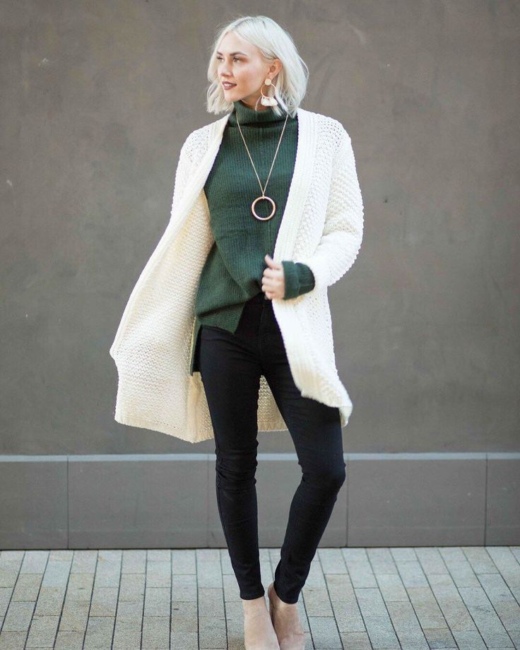 Two sweaters are better than one! Wear a chunky cardi over our bestselling mock neck tunic for a cozier kind of outerwear. Shop the look via link in bio.