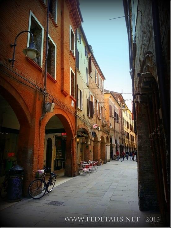 Le vie antiche di Ferrara: Via San Romano by FEdetails.net