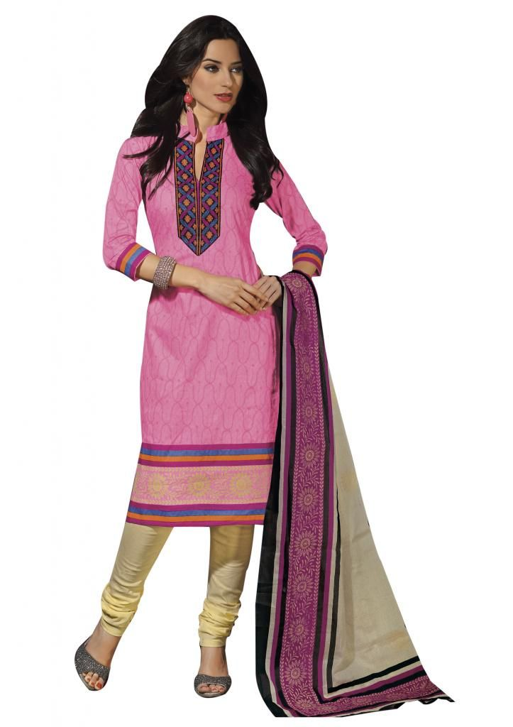 Exclusive Collection of Cotton #Salwar Kameez..  Order Online Now : http://www.ethnicqueen.com/eq/stitched-suits/