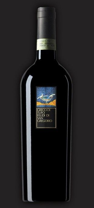 GRECO DI TUFO DOC WHITE WINE - FEUDI DI SAN GREGORIO  The Greco Di Tufo is a tasty white wine, the chalky soils of Tufo give to Greco grapes minerality, freshness and persistence.