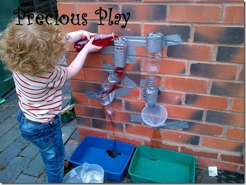 Quick and simple water wall via precious play and @deborahfielden