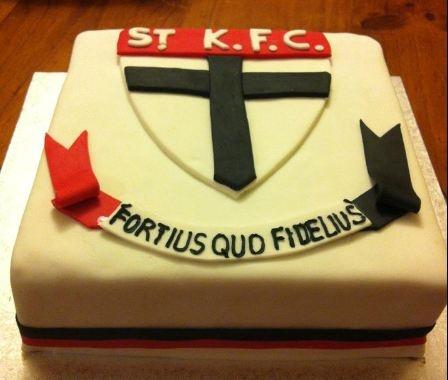St Kilda FC cake #1
