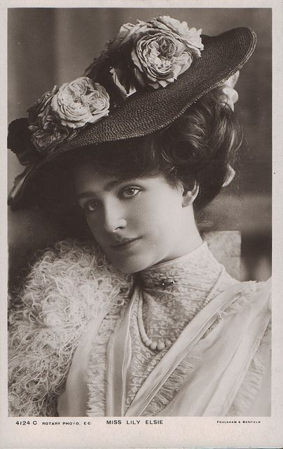 The lovely Edwardian era actress, Lily Elsie