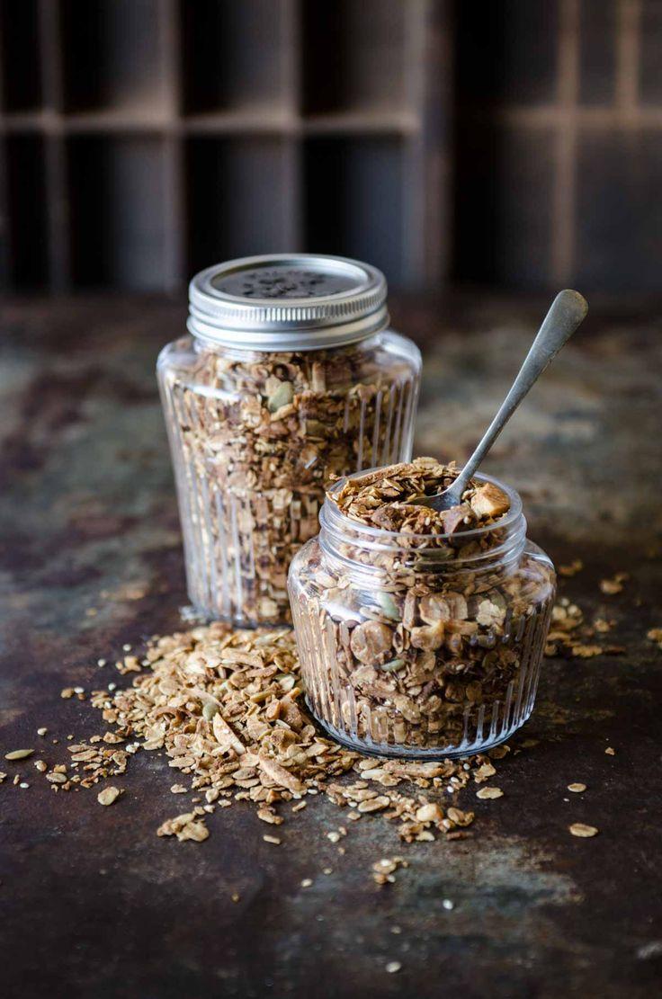 Coffee and Cardamom Granola Recipe | Chew Town Food Blog