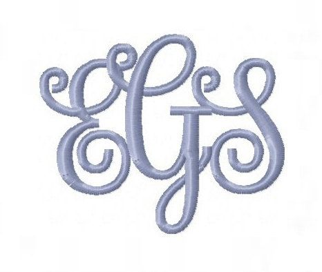 interlocking monogram fonts Quotes