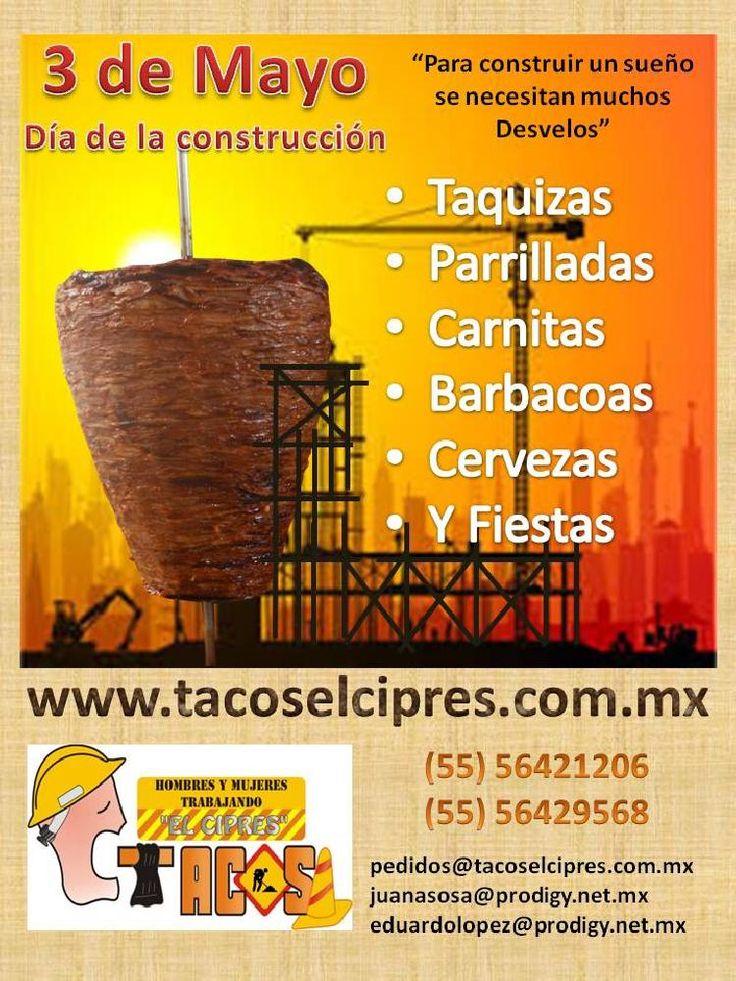 No importa el Tamaño de tu evento contamos con ta infraestructura para atenderlo www.tacoselcipres.com.mx