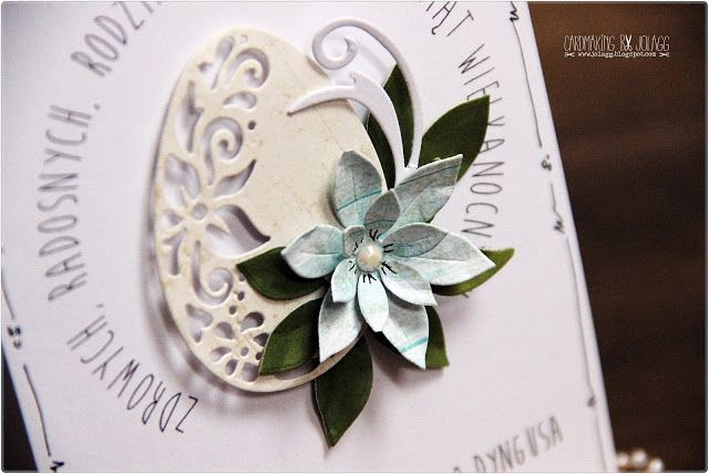 Cardmaking By Jolagg Kartka Wielkanocna C S I Napisy Free Place Card Holders Cards Place Cards