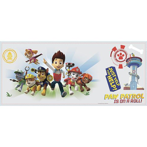 """RoomMates Paw Patrol Wall Graphix Wall Decals - RoomMates - Toys """"R"""" Us"""