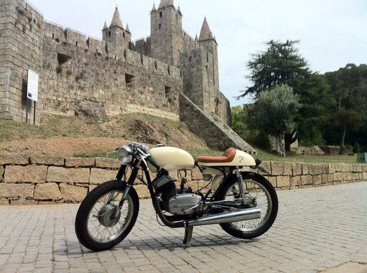 MZ TS 250 Caferacer With Simson AWO Sport Frame