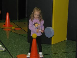 """Carly's PE Games: Elementary PE Lesson - Batting/Tball, Sink the Ship """"Battleship"""", Couch Potato Tag, and Puppy Tag"""