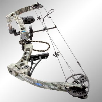 Razor Edge Compound Bow - by Diamond Archery. Though I prefer the simple recurve, still awesome.