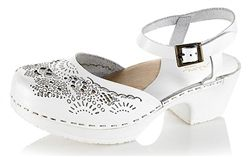 Calou Ninni White Clogs now in the sale at Northlight Homestore