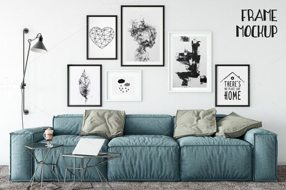 Scandinavian Frame Mockup_11 by Yuri-U on @creativemarket