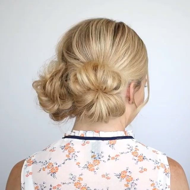 Two Low Buns !!! By:@missysueblog
