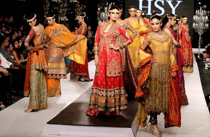 Pakistani Fashion Show Hsy