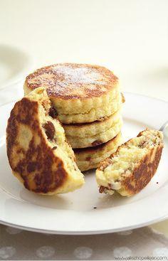 Welsh cakes {pour les brunchs cocooning} Les Welsh cakes sont des petits palais…