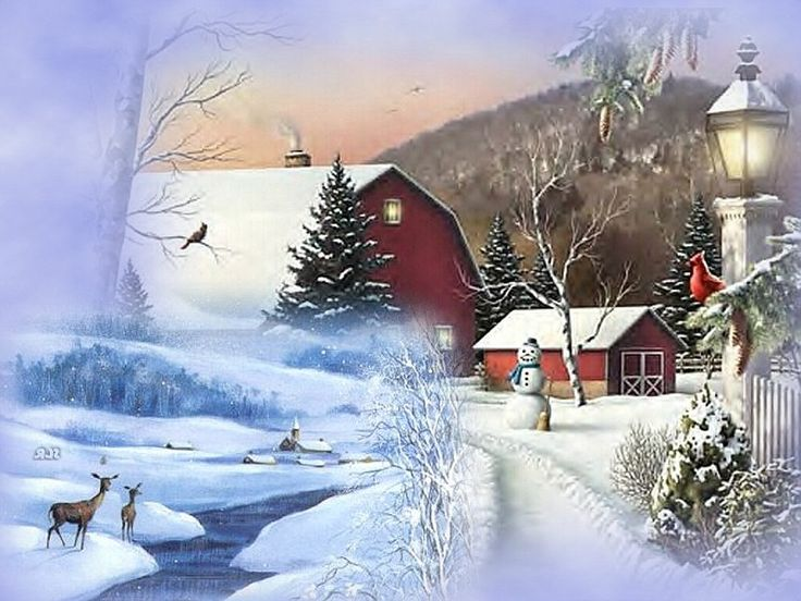 Country Winter - Bing Images