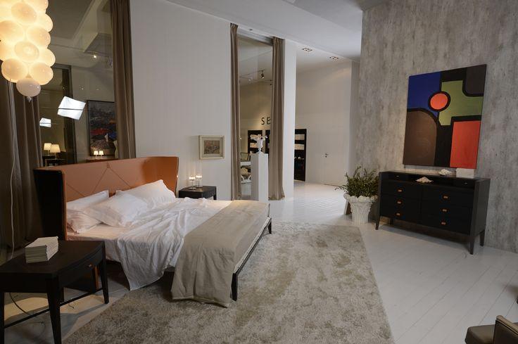 Bed ASTORIA designed by Lorenzo Bellini