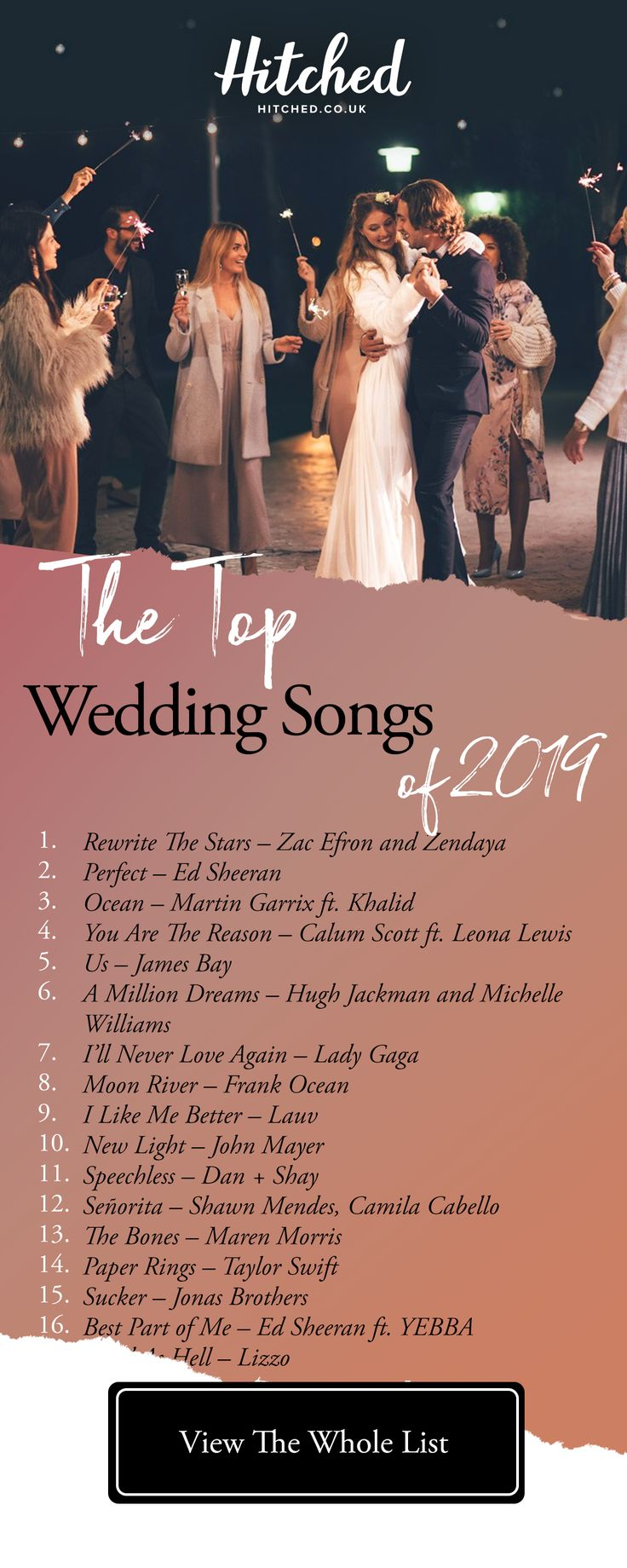 The 40 Top Wedding Songs of 2019 Wedding love songs, Top