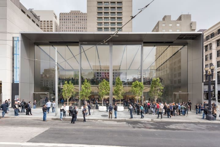 Foster + Partners, Nigel Young · Apple Union Square
