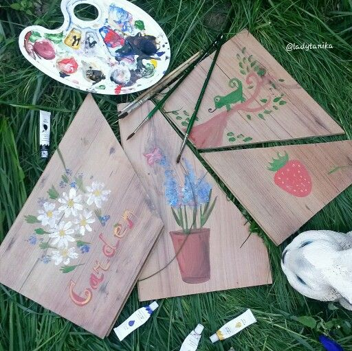 Садовые таблички