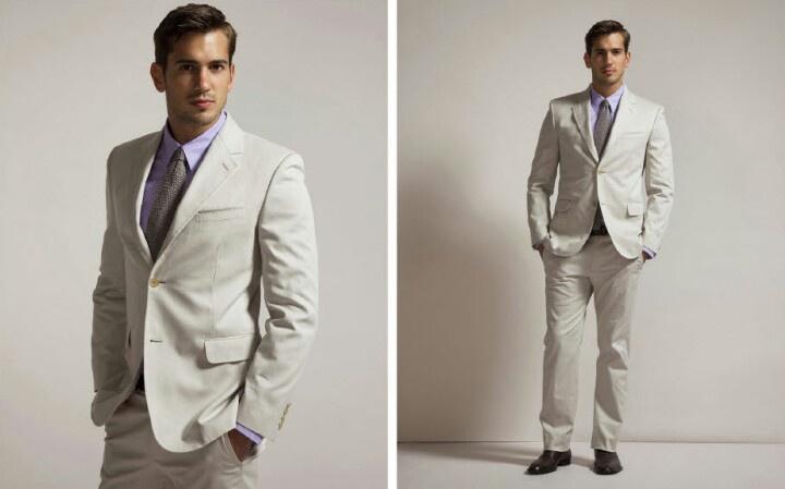 Men's beach wedding attire